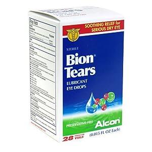 Bion Tears Lubricant Eye Drops, Single-Use Vials - 28 ea