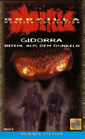 GODZILLA MONSTER COLLECTION VOL. 4 - Gidorra: Befehl aus dem Dunkeln