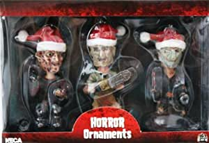 Neca Horror Icons Figural Christmas Ornament 3-pack Freddy ...
