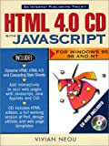 img - for HTML 4.0 CD with JavaScript book / textbook / text book