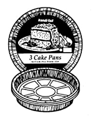 Greatest Purchase FOIL ROUND CAKE PAN 3PK Sale