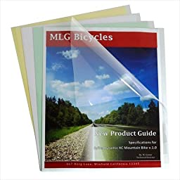 C-Line Products 31347 Report Covers Only Polypropylene Economy Clear 11 x 8.5 100 Per Box