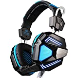 Each G5200 Virtual 7.1 Surround Sound Gaming Headset Wired USB Headphone With Mic For PC MAC, Built-in Vibration...