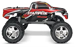 Traxxas Rtr 110 Stampede With Water Proof Xl-5 And 7 Cell Battery With Charger by HRP (Level 3 Products)