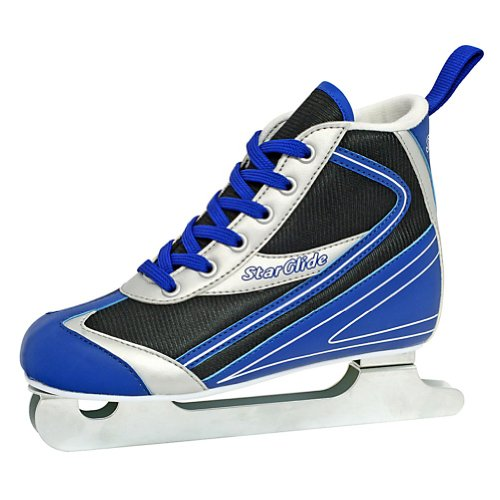 Lake Placid Starglide Boy's Double Runner Figure Ice Skate