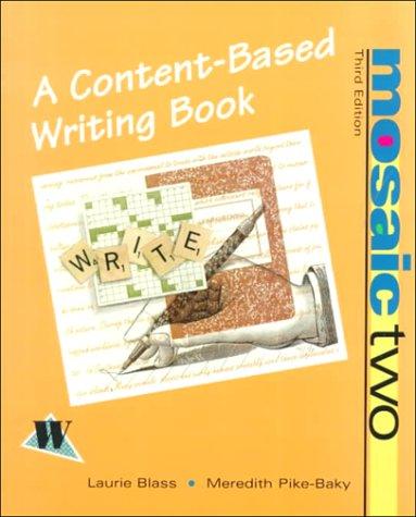 Mosaic Two: A Writing Process Book PDF