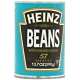 Heinz Beans in Tomato Sauce, 13.7-Ounce Cans (Pack of 12) ~ Heinz