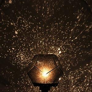 Fuloon-Astrostar Projecteur Laser d'Astro-étoiles Cosmos Lampe Bricolage Diascope de Ciel étoilé