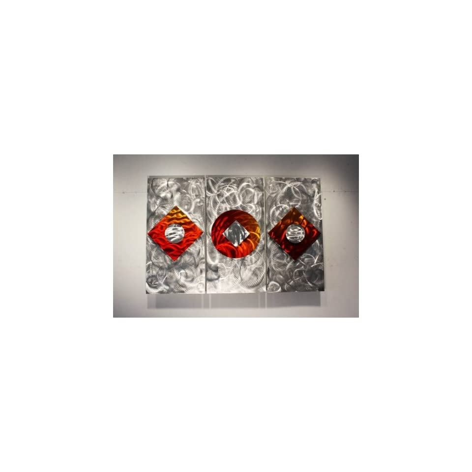 multi panel metal wall eclipse sculpture abstract wall art