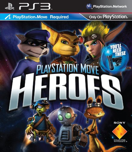PLAYSTATION MOVE HEROES (Move) + Bonus !*