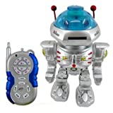 Radio Remote Controlled RC Dancing Robot W/ R/C Missile Disc Launcher Children, Kids, Game