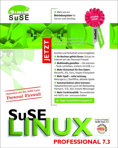 SuSe Linux 7.3 Professional Edition