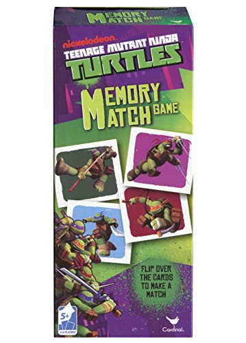 Teenage Mutant Ninja Turtles Memory Match Game - TMNT Matching Game
