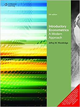 wooldridge introductory econometrics a modern approach Introductory econometrics: a modern approach by jeffrey m wooldridge 401 rating details great introductory textbook on econometrics and a good companion to econometric analysis of cross section and panel data.