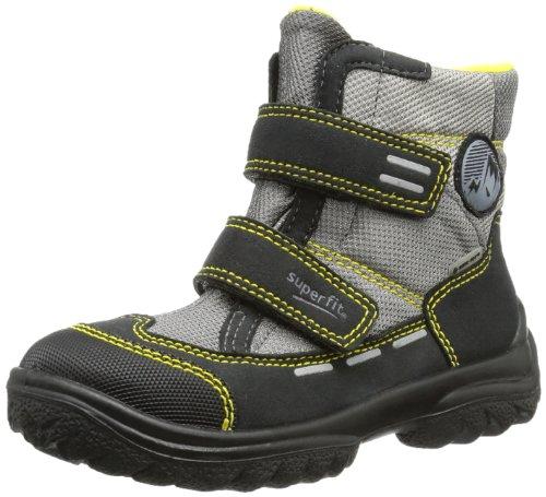 Superfit Boys Snowcat Snow Boots Black Schwarz (Schwarz (Schwarz Kombi) 02) Size: 31