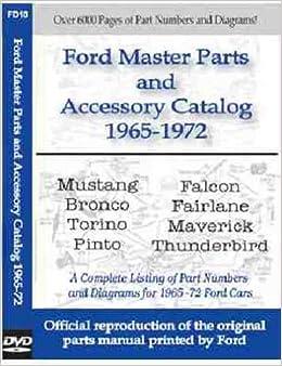 1965 Ford Mustang Parts Catalogue
