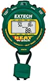 Extech HW30 Combination Humidity, Heat Index, and Temperature Meter; Stopwatch, Time Clock, and Calendar