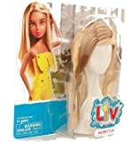 LIV: Doll Wig Accessory - Blonde & Brown Hairstyle