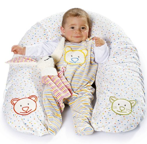 Burda 9635 Baby Accessories Bib, Head / Nursing Cushion, Towel, Sleepsack ~ Sewing Pattern front-109958