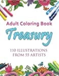 Adult Coloring Book Treasury: 110 ill...
