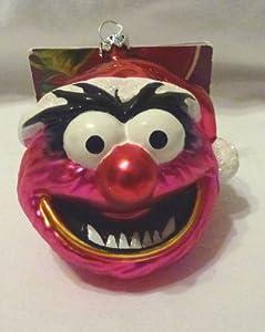 Disney Muppets Animal Drummer Blown Glass Christmas Ornament