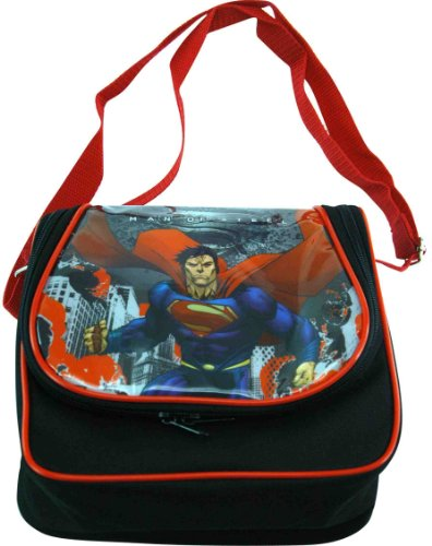 "Superman Lunch Bag (8.5""x8""x4"") - Superman School Bags for Lunch - 1"