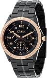 FOSSIL (フォッシル) 腕時計 BLUE TEQ ブラック BQ9348 メンズ