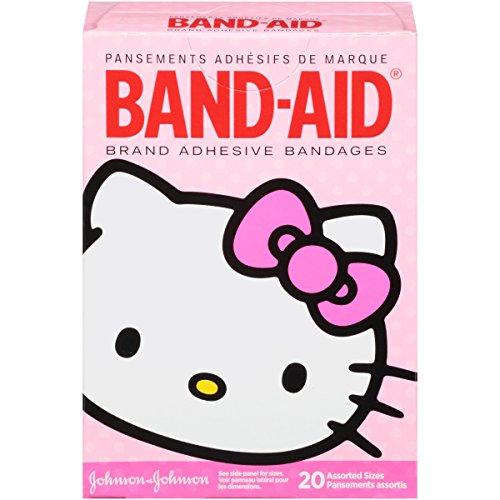 band-aid-marchio-adesivo-bende-hello-kitty-decorato-bende-20-pezzi