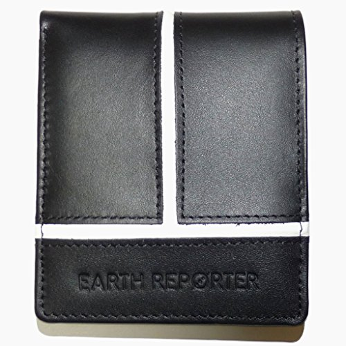 Earth Reporter Men's Stylished White Line Short Wallet Pop in Japan Er-102 iclebo pop