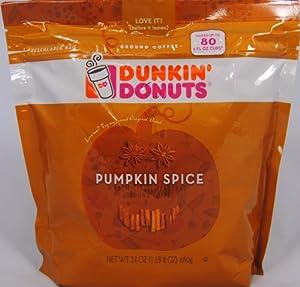 dunkin donuts pumpkin spice ground coffee