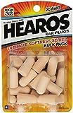 Hearos Ultimate Softness Series Foam Earplugs 100 Pair Jumbo Pack