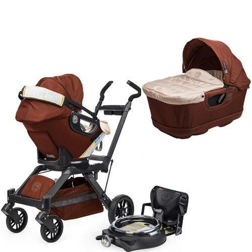 Orbit Baby Infant Travel Collection G3 Bassinet And Car Seat - Mocha front-626516