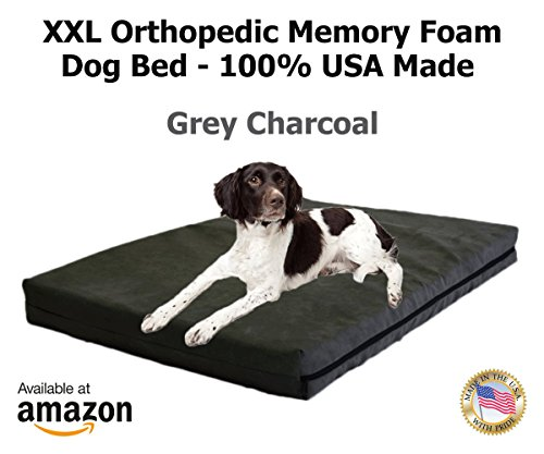 Dog-Beds-Orthopedic-GEL-Memory-Foam-Dog-Bed-100-Made-in-USA-Luxury-Large-Breed-Washable-Pet-Bed-You-Can-Buy-Temperature-Regulated-Keeps-Dogs-Cool-in-Summer-and-Warm-in-Winter
