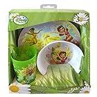 Disney Fairies Tinkerbell 3pc Dinnerware Gift Set - Bowl