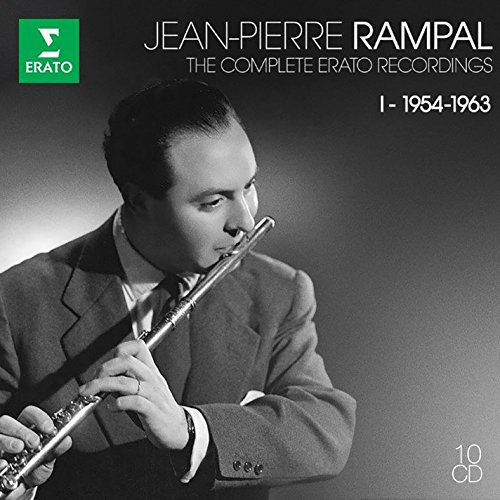 CD : Jean-Pierre Rampal - Complete Erato Recordings, Vol. I (10PC)