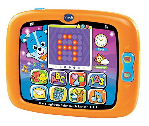 VTech Light-Up Baby Touch Tablet, Orange (Tablet For A One Year Old compare prices)