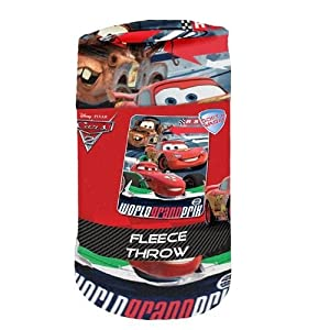 "Northwest Disney Pixar Cars 2 World Grand Prix Blanket/Throw 45"" x 60"" at Sears.com"