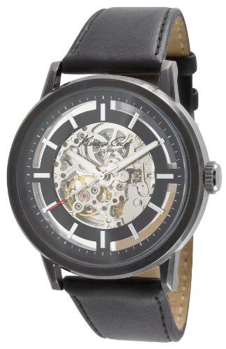 kenneth-cole-kc1632-auto-montre-homme-automatique-analogique-cadran-argent-bracelet-cuir-noir