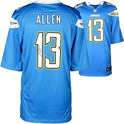 Keenan Allen San Diego Chargers Autographed Nike Game Powder Blue Jersey - Fanatics Authentic Certified