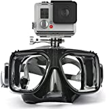 HLC Swimming Scuba Dive Snorkeling Mask Compatible Gopro Hero 1, 2, 3, 3+, for Diving