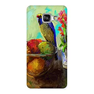 Ajay Enterprises Paint Beutyfull Bird Back Case Cover for Galaxy A3 2016