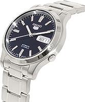 """Seiko Men's SNK793 """"Seiko 5"""" Stainless Steel Blue Dial Automatic Watch from Seiko"""
