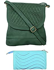 SRI Imported Fancy Designer Combo Of Handbag With Clutch For Girls And Women(Clutch Colour May Vary) - B01JZ54EHA