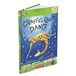 LeapFrog Tag Activity Storybook Giraffes Can\'t Dance (Scholastic)