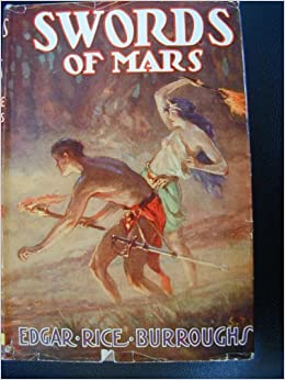 Swords of Mars Edgar Rice Burroughs DelRey John Carter Martian Tale 8