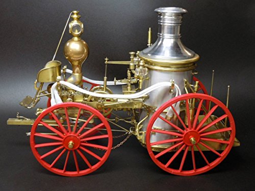 Allerton Steam Fire Pumper circa 1869, 1:12 Scale, Wood & Metal Kit (Horse Drawn Steamer compare prices)