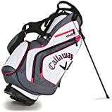 Callaway 2016 Chev Stand Bag - White Charcoal Pink