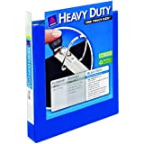 Avery Heavy-Duty View Binder with 1-Inch One Touch EZD Rings, Pacific Blue, 1 Binder (79720)