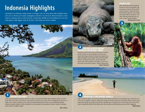 Indonesia Country Travel Guide