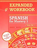 McDougal Littell Spanish for Mastery: Workbook Student Editiont Level 1 (Spanish Edition)